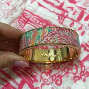 Gold bracelet magnetic Lets Cha Cha Lilly Pulitzer